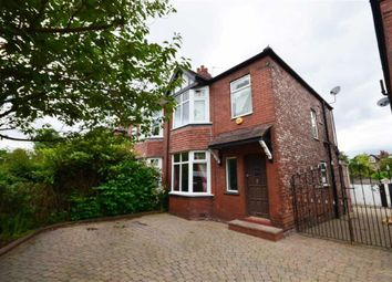 Thumbnail 3 bed semi-detached house to rent in Alan Road, Heaton Moor, Stockport