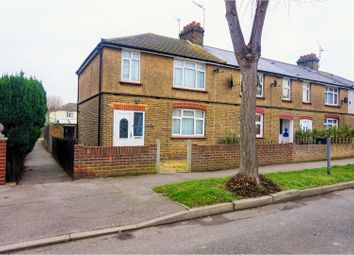 Thumbnail 3 bedroom end terrace house for sale in Moore Road, Swanscombe