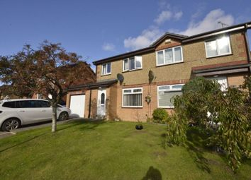 Thumbnail 3 bed semi-detached house for sale in Bellflower Gardens, Southpark Village, Glasgow