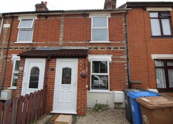 Thumbnail 2 bed terraced house to rent in Eustace Road, Ipswich