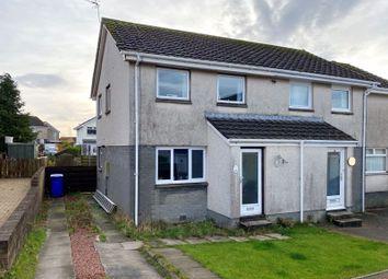 3 bed semi-detached house for sale in Roseburn Drive, Cumnock KA18