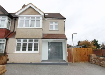 Thumbnail 4 bed semi-detached house for sale in Priory Road, North Cheam, Sutton