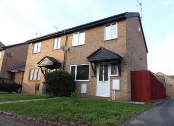 Thumbnail 3 bed semi-detached house for sale in Stagshaw Drive, Peterborough, Cambridgeshire.