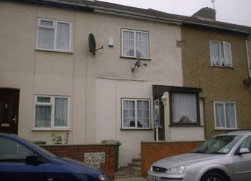 Thumbnail 2 bed terraced house to rent in Milton Road, Swanscombe, Kent