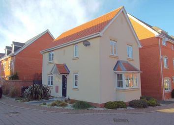 Thumbnail 3 bedroom detached house for sale in Costessey, Norwich, Norfolk