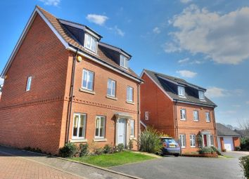 Thumbnail 5 bed detached house for sale in Fern Drive, Norwich