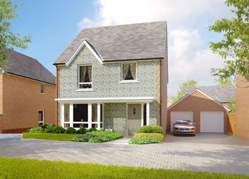 "Thumbnail 4 bed detached house for sale in ""The Stapleford "" at Amesbury Road, Longhedge, Salisbury"