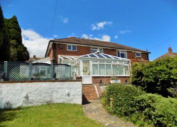 Thumbnail 4 bed semi-detached house for sale in Downside, Westdene, Brighton