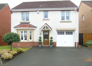 Thumbnail 4 bed detached house for sale in Delamere Grove, Glenboig, Coatbridge