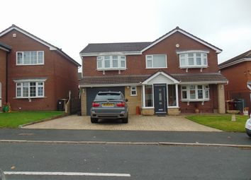 Thumbnail 5 bedroom detached house for sale in Crossford Drive, Bolton