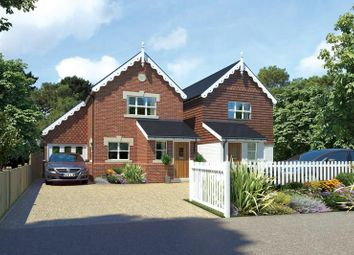 Thumbnail 3 bed detached house for sale in North Road, Brockenhurst