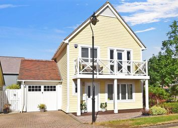 Thumbnail 3 bed detached house for sale in Alisander Close, Holborough Lakes, Kent