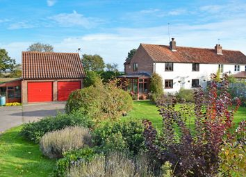 Thumbnail 3 bed semi-detached house for sale in Staithe Road, Burgh St. Peter, Beccles