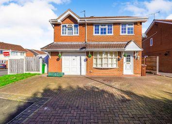 Thumbnail 4 bed detached house for sale in Downend Close, Moseley Parklands, Wolverhampton