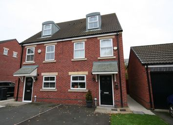 Thumbnail 3 bed semi-detached house for sale in Cherryfield Drive, Linthorpe, Middlesbrough