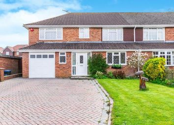 Thumbnail 4 bed semi-detached house for sale in Woodlands Close, Crawley Down, West Sussex