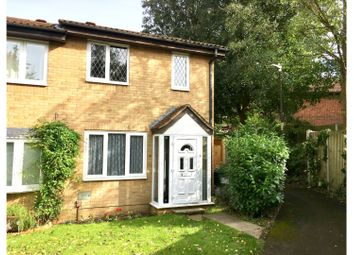 Thumbnail 2 bed end terrace house for sale in Spenlow Drive, Walderslade Woods Chatham