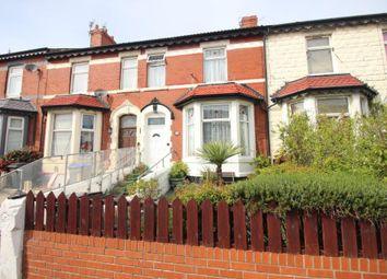 Thumbnail 4 bed terraced house for sale in Carshalton Road, Blackpool
