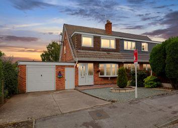 Thumbnail 3 bed semi-detached house for sale in Larch Avenue, Killamarsh, Sheffield