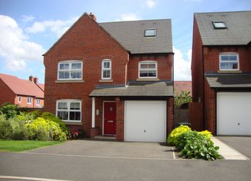 Thumbnail 5 bed detached house for sale in Hope Way, Church Gresley