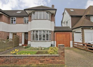 Thumbnail 4 bed semi-detached house for sale in Greencroft Avenue, Ruislip