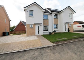 Thumbnail 3 bed semi-detached house for sale in Brentnall Grove, Motherwell
