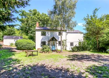 Thumbnail 4 bed detached house for sale in Bat & Ball Lane, Wrecclesham, Farnham, Surrey