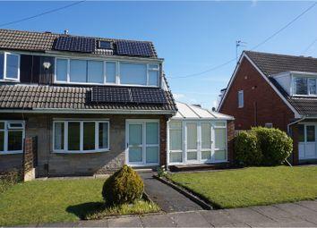 Thumbnail 3 bedroom semi-detached house for sale in Heathfield Walk, Leeds