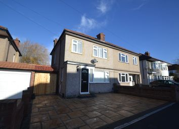 Thumbnail 3 bedroom semi-detached house to rent in Hazel Crescent, Romford