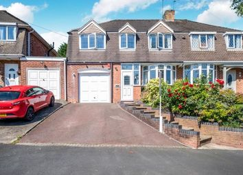 Thumbnail 4 bed semi-detached house for sale in Aversley Road, Kings Norton, Birmingham, West Midlands