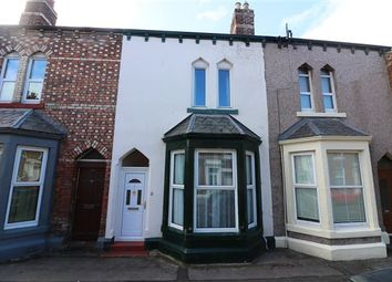 Thumbnail 2 bed terraced house for sale in Sheffield Street, Carlisle, Cumbria