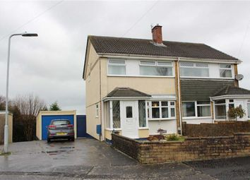 Thumbnail 3 bed semi-detached house for sale in Bevan Way, Waunarlwydd, Swansea