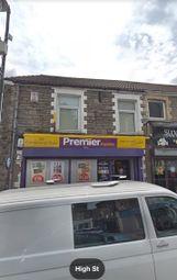 Thumbnail Retail premises for sale in High Street, Newbridge, Newport