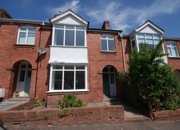 Thumbnail 3 bed terraced house to rent in Lower Avenue, Exeter