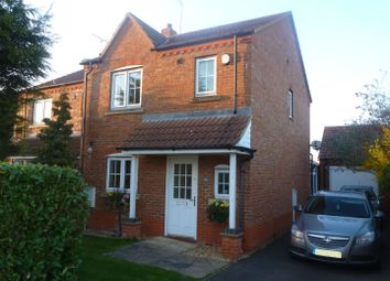 Thumbnail 3 bed semi-detached house for sale in Ashbeach Drove, Ramsey St. Marys, Huntingdon
