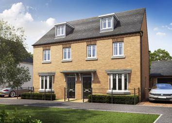 "Thumbnail 3 bedroom terraced house for sale in ""Kennett"" at Southern Cross, Wixams, Bedford"