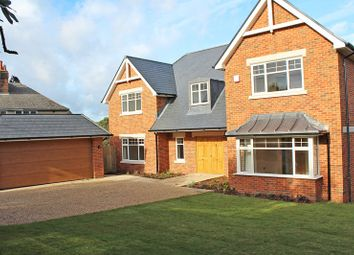 Thumbnail 5 bedroom detached house for sale in Whitby Road, Milford On Sea, Lymington