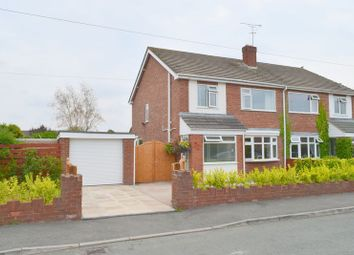 Thumbnail Semi-detached house for sale in Willow Drive, Blacon, Chester