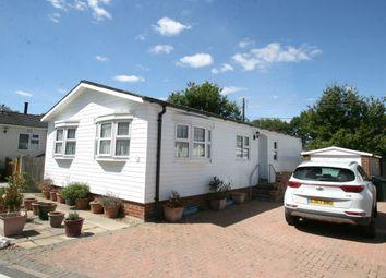 Thumbnail 2 bed mobile/park home for sale in Woodlands Park, Biddenden