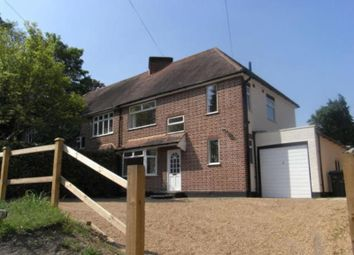 Thumbnail 3 bed semi-detached house to rent in Sandhills Lane, Virginia Water, Surrey