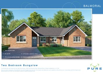 Thumbnail 2 bed semi-detached bungalow for sale in Brookhouse, Denbigh