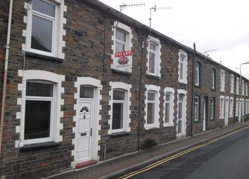 Thumbnail 3 bed terraced house to rent in West Taff Street, Porth