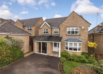 Thumbnail 4 bed detached house for sale in Heron Close, Harden, Bingley, West Yorkshire