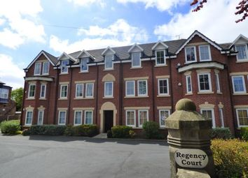 Thumbnail 2 bed flat for sale in Regency Court, Harboro Road, Sale, Greater Manchester