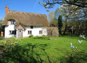Thumbnail 4 bed cottage for sale in Thwaite, Eye, Suffolk