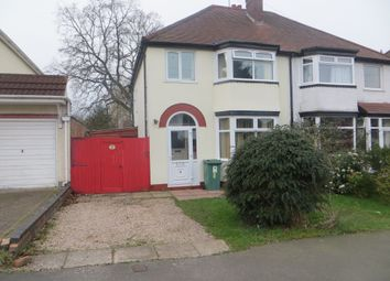 Thumbnail 3 bed semi-detached house to rent in Churchfield Road, Wolverhampton