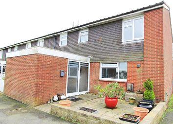 Thumbnail 3 bedroom end terrace house for sale in Anzio Crescent, Burgoyne Heights, Guston, Dover, Kent