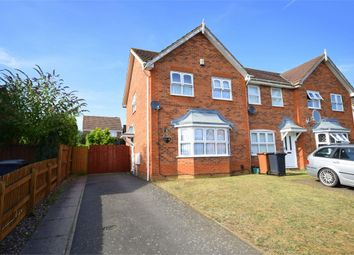 Thumbnail 3 bed end terrace house for sale in Skinner Avenue, Upton, Northampton