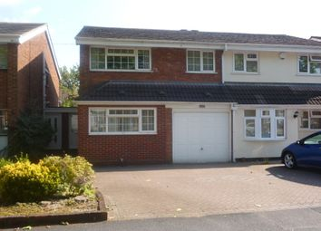 Thumbnail 4 bedroom semi-detached house for sale in Bordesley Green East, Stechford, Birmingham