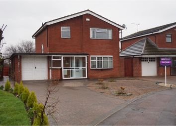 Thumbnail 4 bedroom detached house for sale in Turlands Close, Coventry